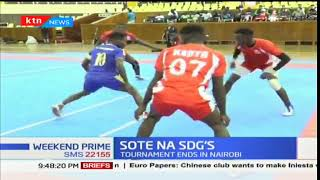 Kenya national Kabaddi team enters semi finals of the Sote SDGs tournament