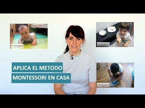 Aplica el Metodo Montessori en Casa