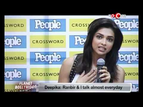 Deepika Padukone: Ranbir Kapoor & I talk almost everyday