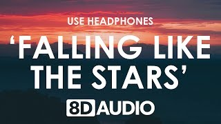 James Arthur   Falling Like The Stars (8D AUDIO) 🎧
