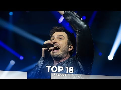 Finland in Eurovision - My Top 18 (2000-2019)