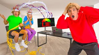 LIE DETECTOR TEST on BEST FRIEND and GIRLFRIEND!! (ARE THEY TWIN GAME MASTERS?)