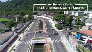 Avenida Francisco Ferreira Canto, na Caneleira, é totalmente reurbanizada!