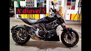 Ducati XDiavel S Ride ( Acceleration, Sound, Traffic Ride )