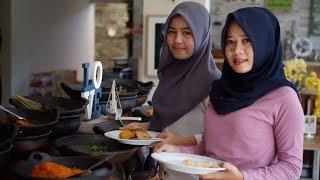 Kuliner Nusantara Prasmanan di Umah Bone Bandar Lampung
