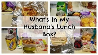 What I Pack for My Husband's Lunch | October 17-21 | 2016