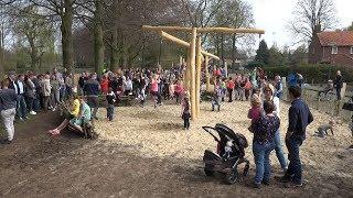 Opening Natuurspeeltuin Het Klauterwoud in Waspik - Langstraat TV