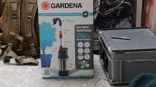 Gardena Inox 4700/2 - Mein Blick auf die Tauchpumpe / Fasspumpe Automatic