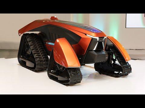 Kubota: X tractor