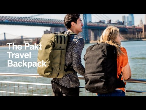 Pakt Travel Backpack: The Carry-On Game Changer-GadgetAny