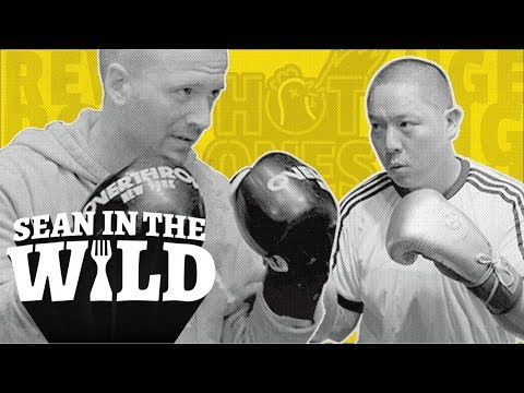 Eddie Huang Challenges Sean Evans to a Revenge Boxing Match | Sean in the Wild
