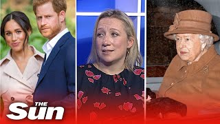 """The Queen is devastated"" Sun Royal correspondent Emily Andrews tells all on Megxit"
