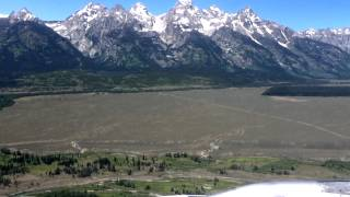 Airbus A320 Landing Jackson Hole