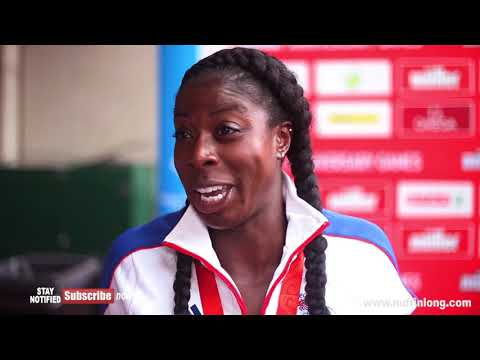 CHRISTINE OHURUOGU TALKS ABOUT THE HIGHS AND LOWS OF HER CAREER