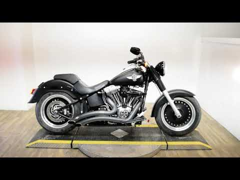 2011 Harley-Davidson Softail® Fat Boy® Lo in Wauconda, Illinois - Video 1