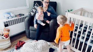 TODDLER & INFANT SHARE A ROOM! [First Nights & What Happened]