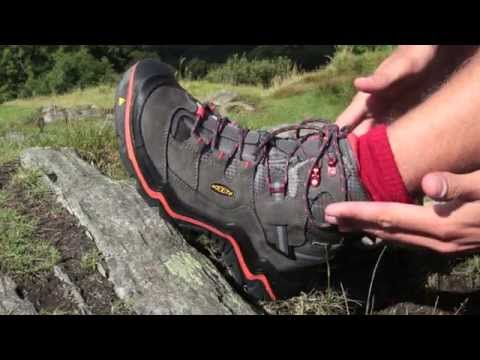 Trail magazine test drives the Keen Durand hiking shoe