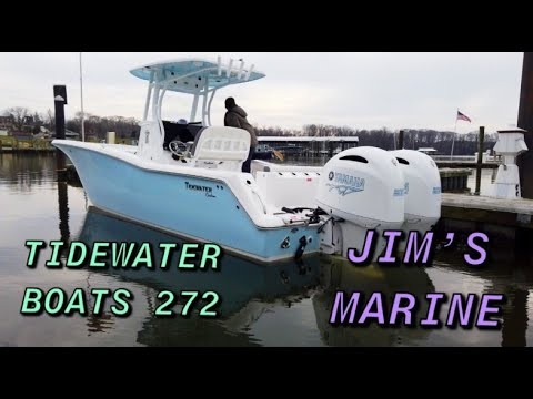 Tidewater 272 CC Adventure video