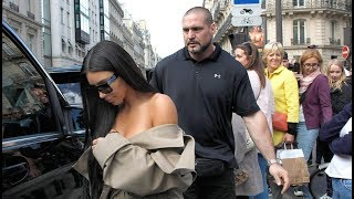 Плохую работу охранника Ким Кардашьян оценили в 6 млн.  долларов