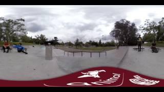 "Animal Bikes - ""Riding with Animal"" 360 VR BMX Teaser"