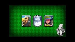 Clash Royale Concept Cards Геймплей Sneaky Archer Barbarian Barrel Ghost Magical Archer