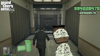 How To GET Inside BANK VAULT AND GET UNLIMITED MONEY IN GTA 5 (SECRET BANK ROBBERY)