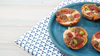 Mini Deep-Dish Pizzas | Southern Living