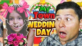 Невеста в My Town как в реальной жизни Симулятор для детей Игра про веселую семью KIDS CHILDREN