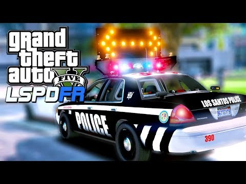 GTA 5 LSPDFR City Patrol With Arrowboards! | GTA 5 POLICE MOD LIVE STREAM