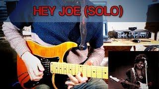 HEY JOE (Jimi Hendrix) - ANALYSE DU SOLO (+TAB)
