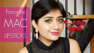 MAC Lipsticks For Indian Skin : Current Favorites | Corallista