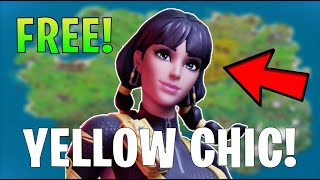 HOW TO GET The Yellow Chic Style In Fortnite?!