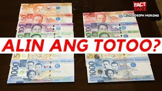 Fact or Fake with Joseph Morong: How to spot fake money