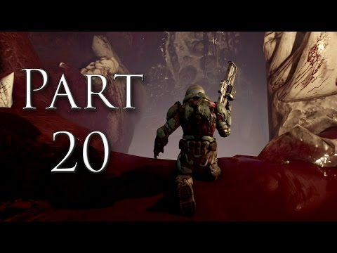 DOOM 2016 MISSION 10 Titan's Realm Part 20 Gameplay (PC\\PS4