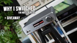 Best Integrated Amplifier Award ! High Current Monster - Burson Timekeeper 3i !