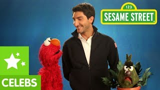 Sesame Street: Evan Lysacek teaches Elmo and Stinky about Confidence