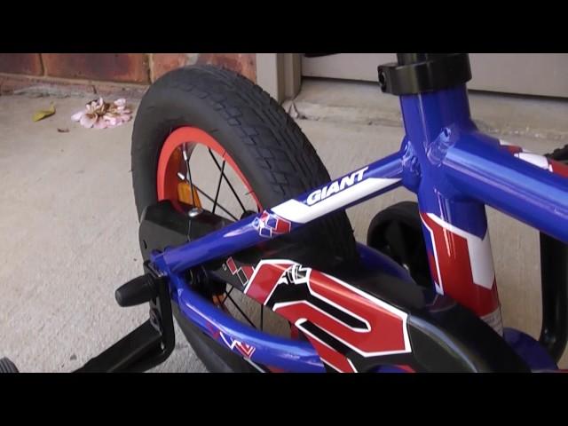 Видео Велосипед Giant Animator F/W 12 metallic black