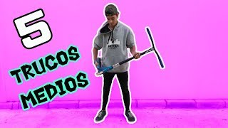 Tutorial 5 trucos medios de scooter
