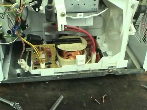 Fixing Panasonic inverter microwaves