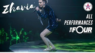 ZHAVIA: All Performances On 'The Four' | The Four Season 1