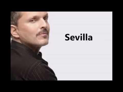 Miguel Bosé - Sevilla (Lyrics)