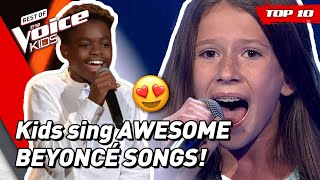 TOP 10 | Beautiful BEYONCÉ songs covered in The Voice Kids! 😍