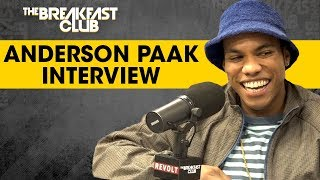 Anderson Paak Talks Oxnard, Fatherhood, Being Saved By The Church + More