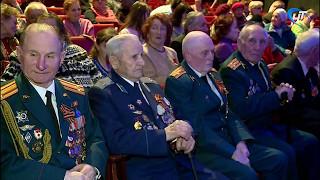 Слова поздравлений и благодарности ветеранам звучали сегодня в ДК Город