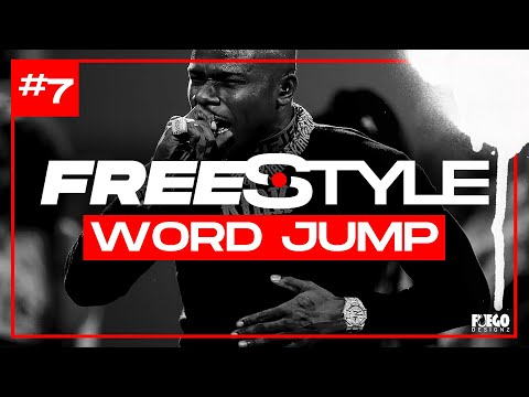 🔥 PRACTICE FREESTYLING HERE! 🔥20 words in 2minutes FREESTYLE GAME | WORD JUMP CHALLENGE