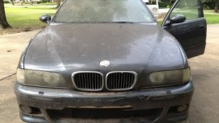 Car Restoration - 1999 BMW E39