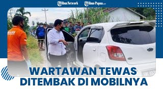 Wartawan Online Tewas Ditembak OTK di Dalam Mobil, Warga Berdatangan setelah Dengar Alarm Berbunyi