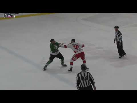 Patrick Bordeleau vs. Sébastien Laferrière
