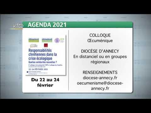 Agenda du 8 février 2021
