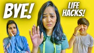 TESTING VIRAL LIFE HACKS GRAND FINALE WITH BROTHER & SISTER | Rimorav Vlogs